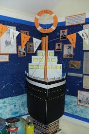 Titanic Display Theres A Boy In My Class Who Would Love This