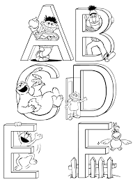 Sesame Street Printable Coloring Pages Images Pictures Photos