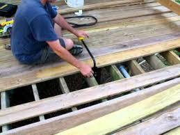 Wood Decking Boards by Part 3 Stanley Board Bender Straightening Bent Bowed Deck Boards