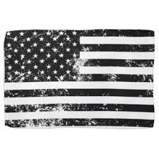 American Flag Black And White Vintage Clipart