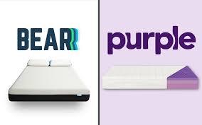 Bear Mattress vs Purple Mattress Review Coupon Code