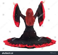 Characters For Halloween With Red Hair by Beautiful Young Red Hair Wearing Stock Photo 342599768