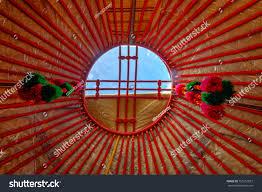100 Nomad House Hole Yurt Roof Yurt Traditional Stock Photo Edit Now 753251857