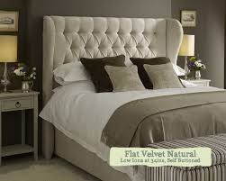 Velvet Super King Headboard by Superking Winged Iona Headboard U2013 Quality For Just 698