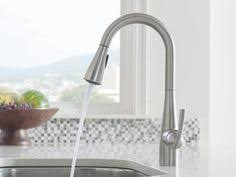 Moen Kiran Pull Down Faucet by The Kiran Pulldown Kitchen Faucet With Spot Resist Stainless