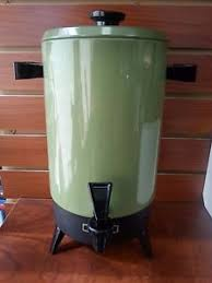 Image Is Loading Vintage Empire 32 Cup Electric Green Coffee Maker
