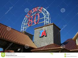 100 I 80 Truck Stop Owa Stop Editorial Stock Photo Mage Of Sign 20006878