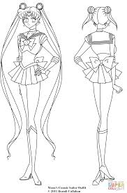 Click The Cosmic Sailor Moon Coloring
