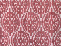 Curtain Fabric By The Yard by Moroccan Red And White Damask Curtain Fabric By The Yard