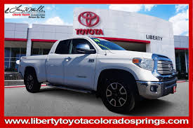 Toyota Tundra Trucks For Sale In Colorado Springs, CO 80950 - Autotrader