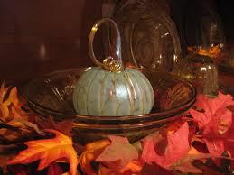 Glass Hand Blown Pumpkins by The Merry Dressmaker October 2011