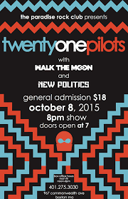 Twenty One Pilots Poster Concert Posters Design Ideas And Inspiration