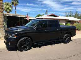 100 Dodge Truck 2014 2015 Ram Express 1500 Black Out Edition Ram