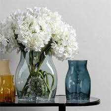 nordic haushalts licht luxus dekoration wohnzimmer trockenen blume vase kreative körper glas vase dekorationen vase decor haushalt
