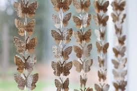 Paper Butterfly Crafts Hanging Window Decorations7