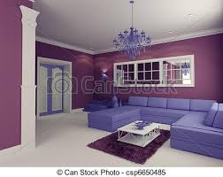 Stock Illustrations Of Living Room