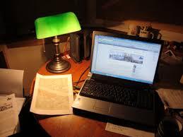 Green Bankers Lamp History by Desk Lamp London Historians U0027 Blog
