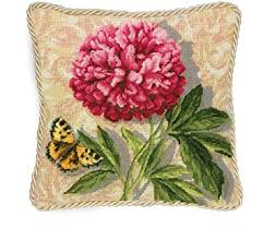 Amazon Dimensions Needlepoint Kit Peony