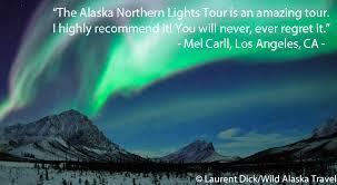 WILD ALASKA TRAVEL Amazing Alaska Northern Lights Tour Wild