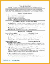 Finance And Insurance Manager Resume Flawless For Sample Technical Project