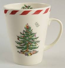 Spode Christmas Tree Mug And Coaster Set by Spode Christmas Tree Green Trim At Replacements Ltd Page 8