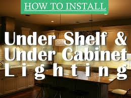 how to install cabinet lighting 1000bulbs