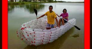 Boat Made Plastic Bottles Crafty Ideas Pinterest