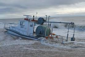 Deadliest Catch Boat Sinks by Sinking Commercial Fishing Boat Beached Safely On Napeague