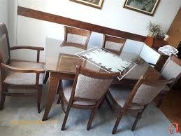 Dining Room Sets For Sale Layout Pazar3 Mk Ad Trpezariska Masa Od Buka So 6 Stolici