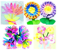 Super Cute And Easy Flower Crafts For Kids To Make This Spring Craft Ideas Toddlers Paper
