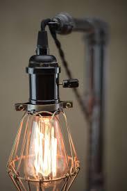 industrial table ls edison bulb light table l