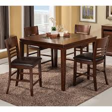 Alpine Furniture - Granada 5-Piece Pub Table Set