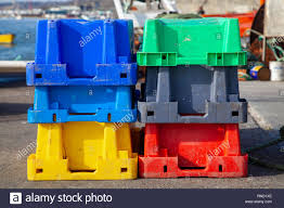 100 Steel Shipping Crates Green Stock Photos Green