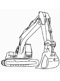 Construction Vehicles Coloring Pages 12