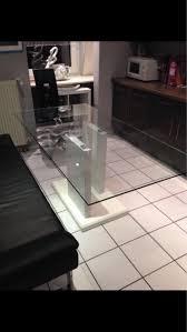 glastisch esszimmertisch säulentisch in 45359 essen for