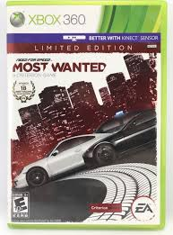 100 Truck Driving Games For Xbox 360 Need For Speed Most Wanted Limited Edition Microsoft