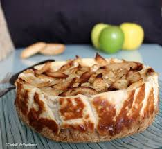 Cook A Life By Maeva Cheesecake Rustique Aux Pommes Apple CheesecakeCheesecake CupcakesRusticApple