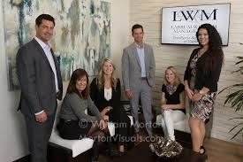 Casual business portrait of the Labrum Wealth Management team