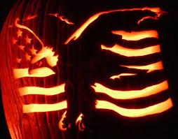 Kxvo Pumpkin Dance Spooky Scary Skeletons by Here U0027s Pumpkinglow Com U0027s Eagle And Flag On A Real Pumpkin