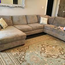 find more havertys piedmont sectional for sale at up to 90 off