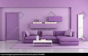 lizenzfreies foto 19546068 lila modernes wohnzimmer
