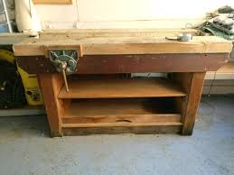 the ultimate modern woodworking workbench image on marvelous