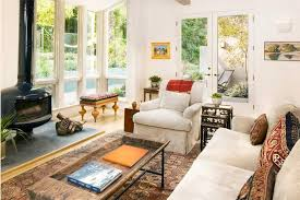 Awesome White Nuance Interior Living Room Design Of The Modern Colonial Homes That Has Off Sofas Can Add Elegant Touch Inside House