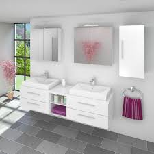 badmöbel set city 307 v2 hochglanz weiß badezimmermöbel waschtisch 200cm 20171 001 ohne spiegelschrankbeleuchtung