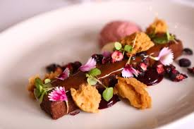Little Truffle Dining Room Bar Decadent Desserts At