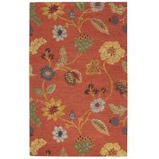 Orange 4 X 6 Area Rugs Rugs The Home Depot
