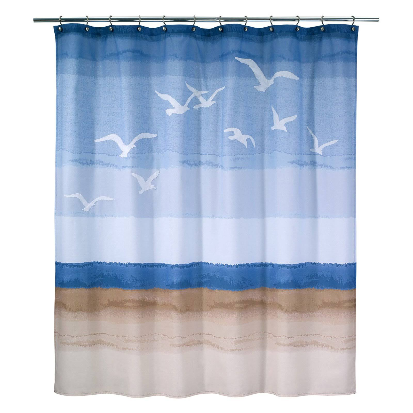 Avanti Seagulls Shower Curtain
