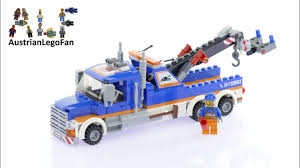 100 Lego City Tow Truck 60056 Speed Build Review YouTube
