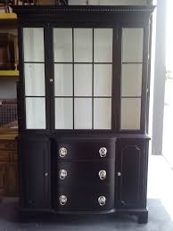 Shabby Chic Dining Room Hutch by Add Color To Your China Cabinet Pantry Dining Room Breakfront