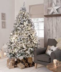 Christmas Tree Flocking Spray Uk by Can You Tell Which Christmas Trees Are Luxury Daily Mail Online